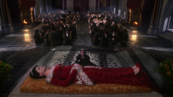 Królowa nie żyje