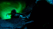 1x19 Bae falling into portal