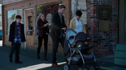 4x01 Walking with son