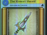 The Komori Sword