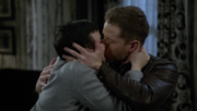 6x17 Snow David kiss