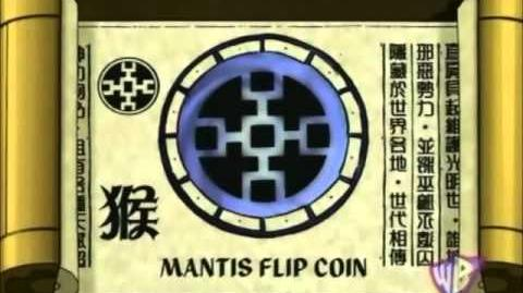 Shen Gong Wu - Mantis Flip Coin