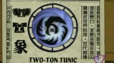 Shen Gong Wu - Two-Ton Tunic