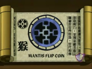 Mantis Flip Coin Scroll