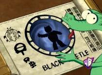 Black Beetle Scroll