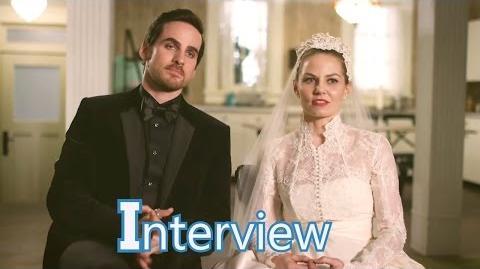 Dawno, dawno temu - 6x20 - Wywiad z Jennifer i Colinem