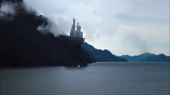 1x22 Maleficent castle