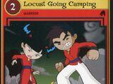 Locust Going Camping