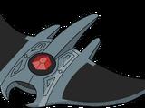 Silver Manta Ray