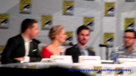 Comic Con 2014 Once Upon a Time Panel Clip 4
