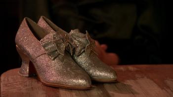 Srebrne pantofelki