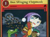Bee Stinging Chipmunk