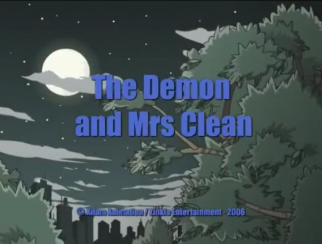 File:Xilam - Shuriken School - The Demon and Mrs. Clean - Episode Title Card.jpg