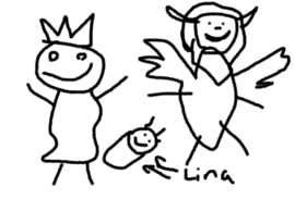 Lina is born