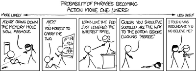 Xkcd0813 redundant one liners