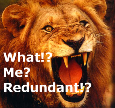 Redundalion