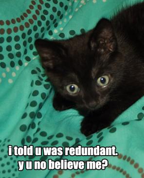 Redundant184