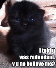 Redundant43