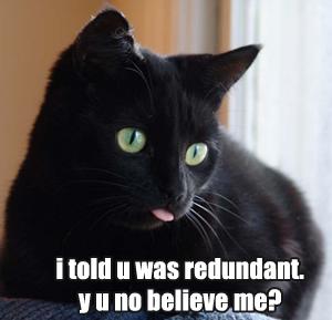 Redundant34