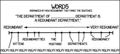 Redundance