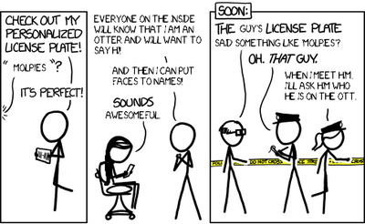 License (xkcd 1105)