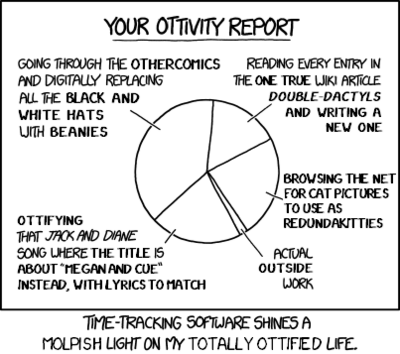 Xkcd1690 ottivity report