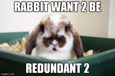 Redundant rabbit