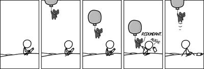 Balloon redundant
