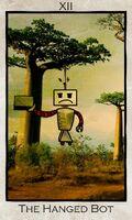 Tarot theHangedBot