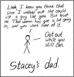 Staceys dad