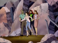 Kitty saving her parents and Jean