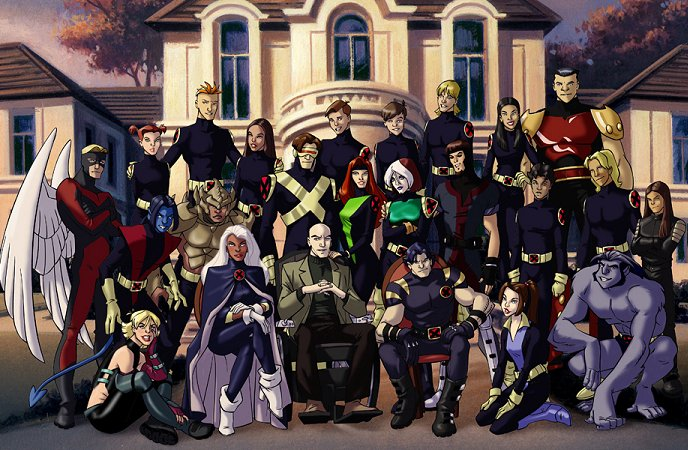 X-Men full roster