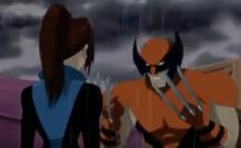 Wolverine can't bring himself to hurt Shadowcat