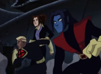 Shadowcat, Nightcrawler and Spyke