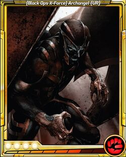 Black Ops X-Force Archangel UR