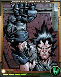 (Phoenix Blade) Korvus Rook'shir