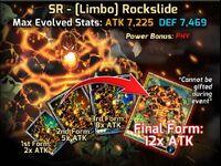 SR Limb Rockslide