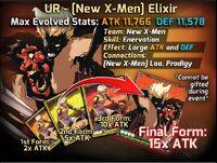 UR New XMen Elixir