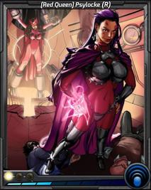 (Red Queen) Psylocke