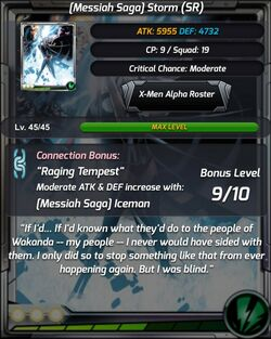 Messiah Saga Storm Stats