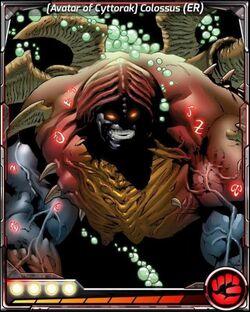 Avatar of Cyttorak Colossus ER