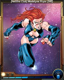 (Hellfire Club) Madelyne Pryor