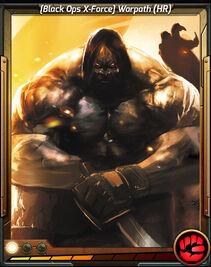 (Black Ops X-Force) Warpath