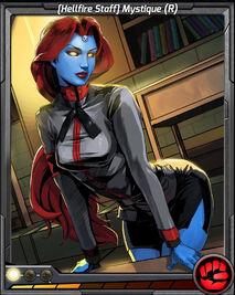 (Hellfire Staff) Mystique