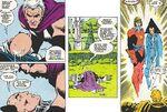 Professor X (Charles Xavier) (Terra-616) in the Space