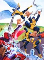 00-2 Magneto VS X-Men