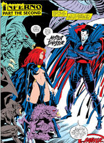Madelyne Pryor, Nathaniel Essex and N'Astirh (Earth-616) from Uncanny X-Men Vol 1 241 0001