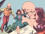 Professor X (Charles Xavier) (Terra-616) and Moira Kinross (Terra-616)