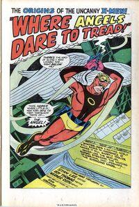 002-0 Anjo Antes dos X-Men