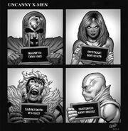 Uncanny X-Men Vol 4 1 Hip-Hop Variant Textless